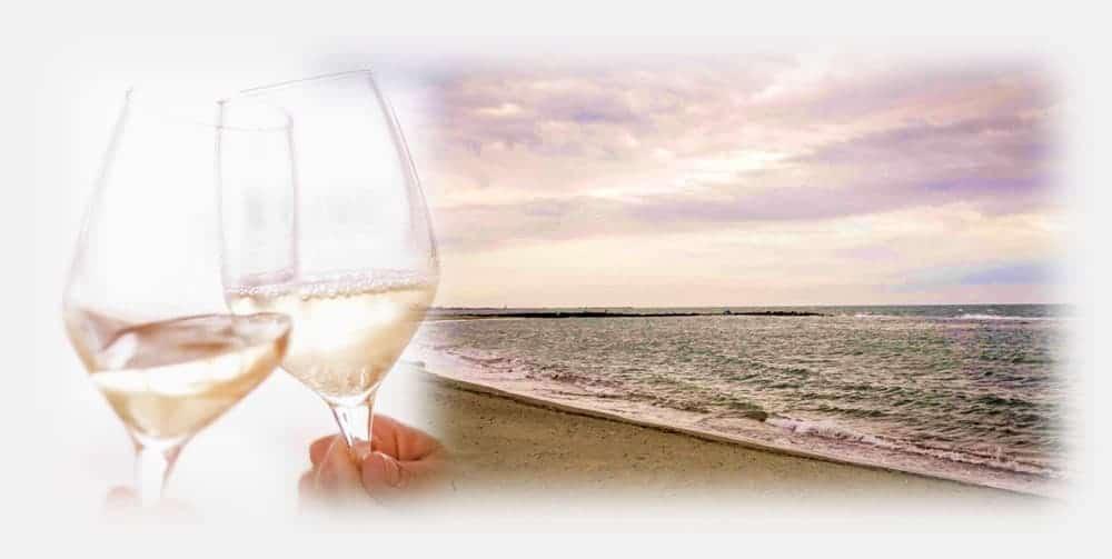 """""""White Passion – Sunset & Wine"""" –Aperitivo, Degustazione & Cena"""