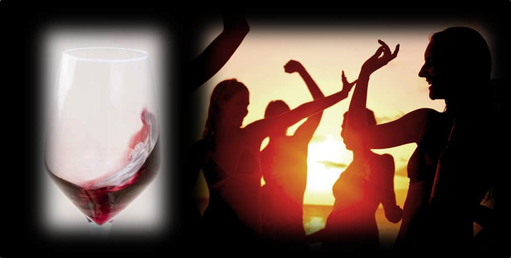 """Red Passion – Sunset, Music & Wine"" – Aperitivo, Degustazione & Music Live Set"