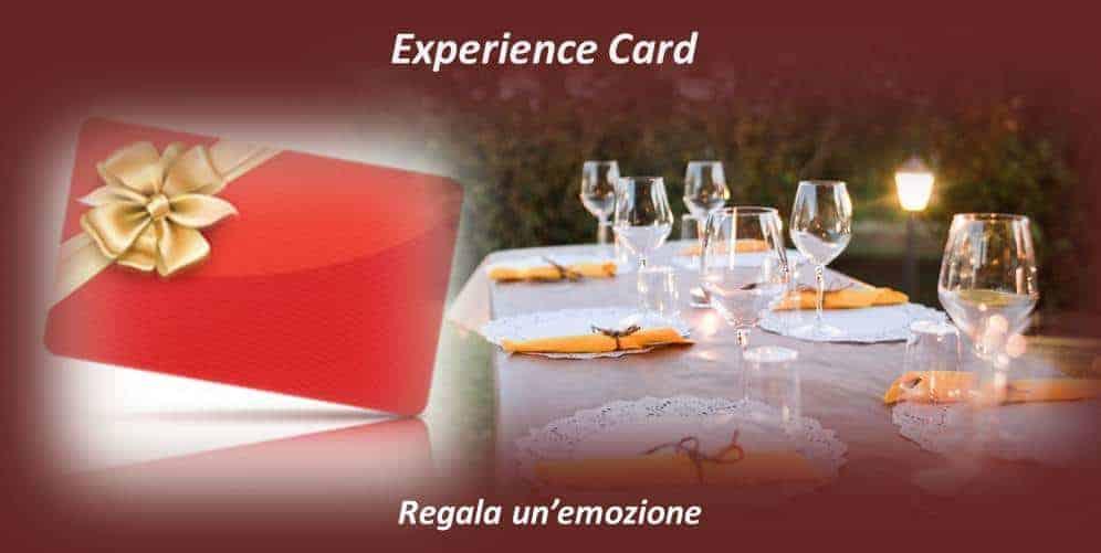 Experience Card - Regala una degustazione, un corso, un'esperienza a Roma