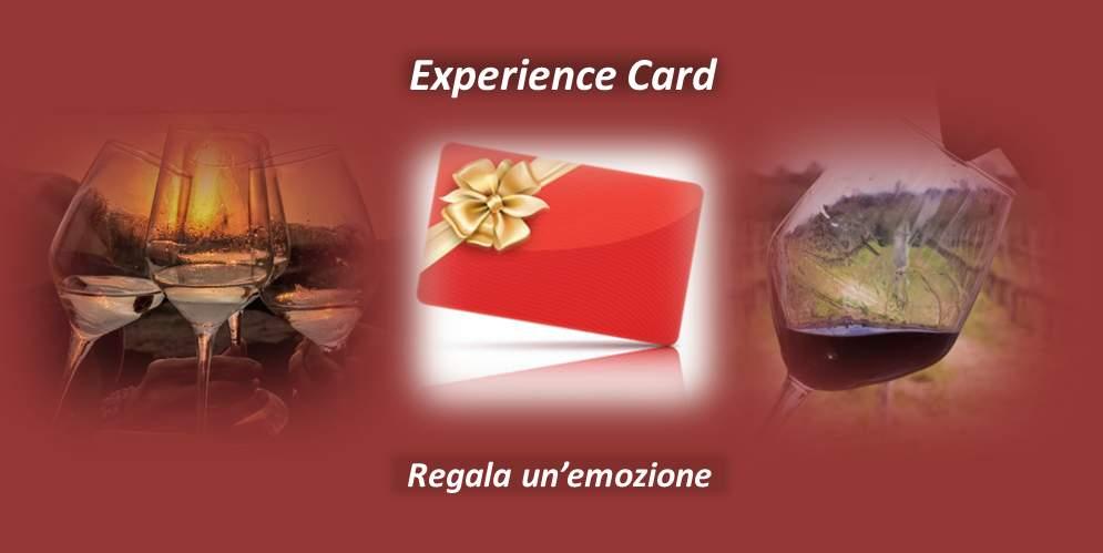 "Regala un buono ""Experience Card"""
