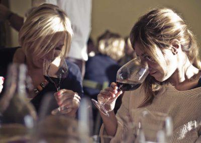 Prova olfattiva - Corso di avvicinamento al Vino Roma