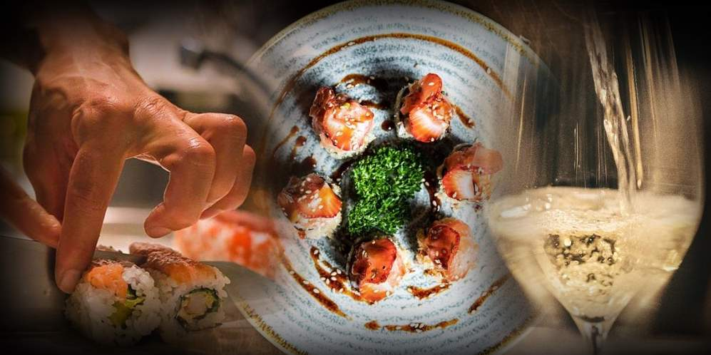 "Pranzo e degustazione ""Sushi & Vino"""