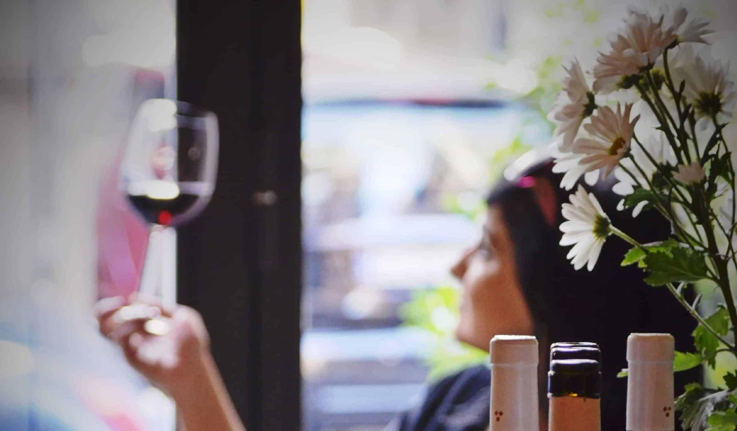 avvicinarsi al vino